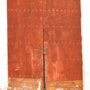 Red Spanish Door